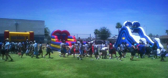 inflatable bounce house event