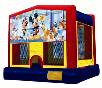 Micky Mouse Bounce house