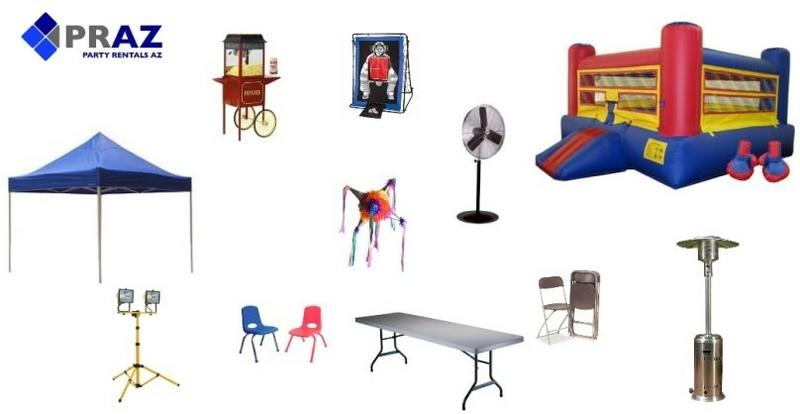 Party Equipment Phoenix Party Supplies Party Rentals Phoenix