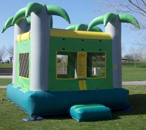 Tropical Palm tree Bounce Housew