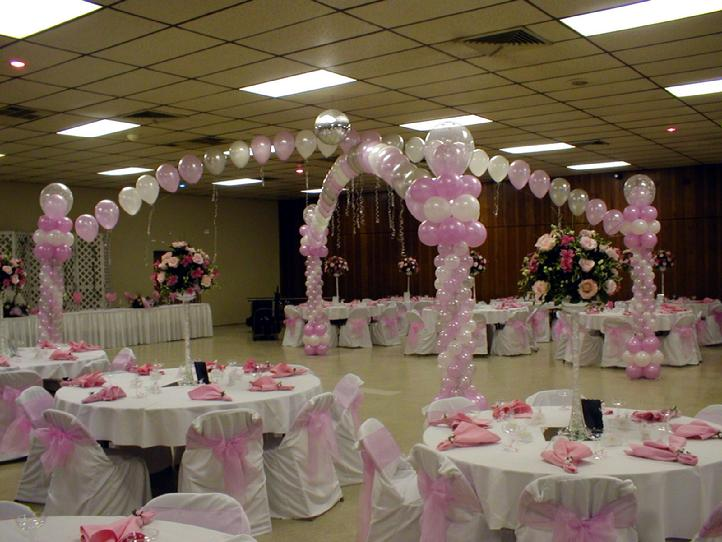balloon decorations in phoenix - Wedding Decor Rentals