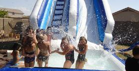 Water slide Rental Party Rental Services Phoenix Arizona